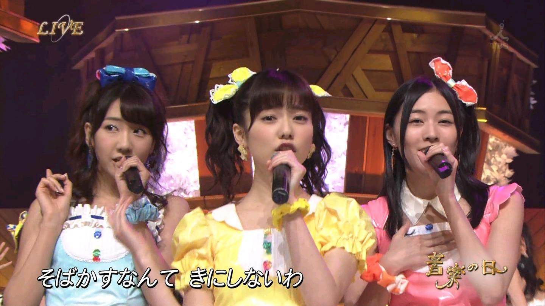 音楽の日 AKB48 キャンディ・キャンディ 20140802 (4)