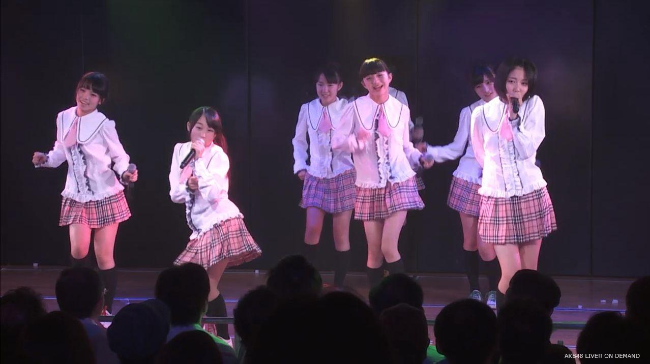 チーム8坂口渚沙 劇場公演デビュー 20140806 (2)