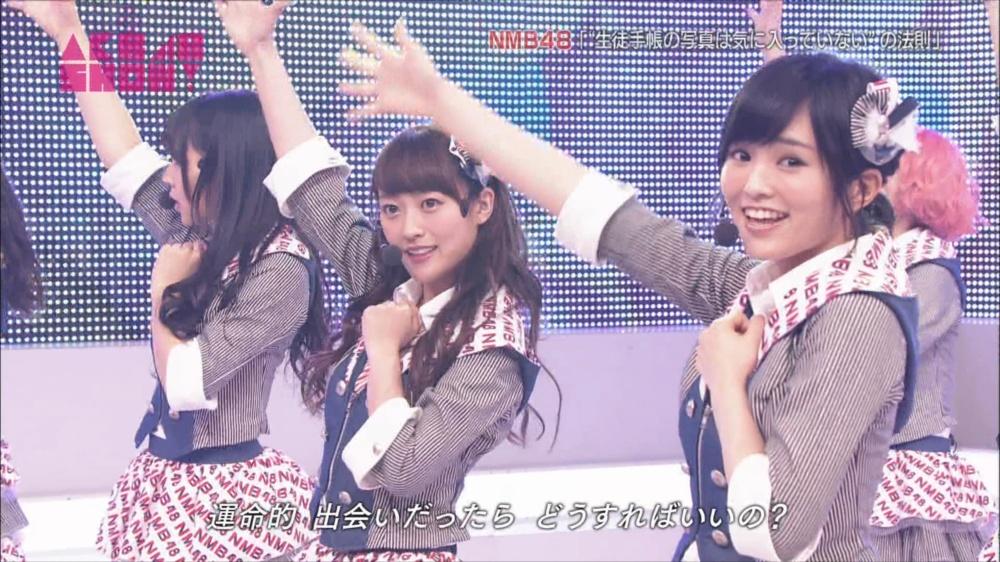 AKB48SHOW NMB48生徒手帳の写真は気に入ってないの法則 20140816 (48)_R