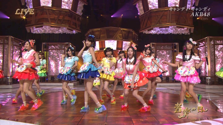 音楽の日 AKB48 キャンディ・キャンディ 20140802 (26)