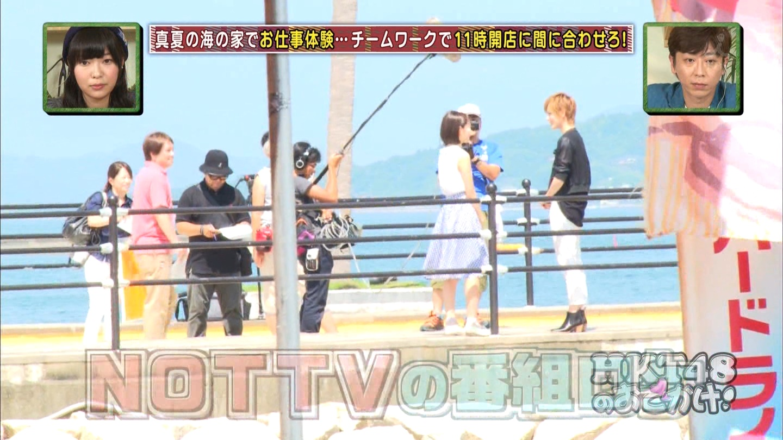 HKT48おでかけ 海の家 宮脇咲良 20140814 (9)