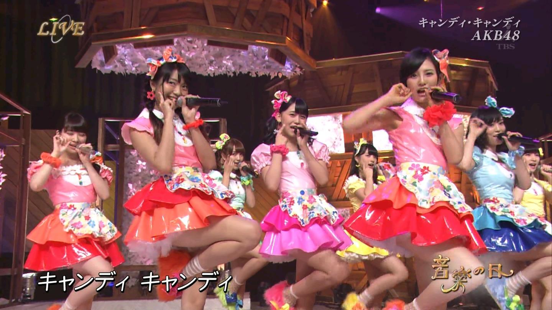 音楽の日 AKB48 キャンディ・キャンディ 20140802 (62)