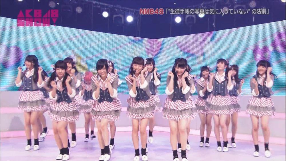 AKB48SHOW NMB48生徒手帳の写真は気に入ってないの法則 20140816 (65)_R