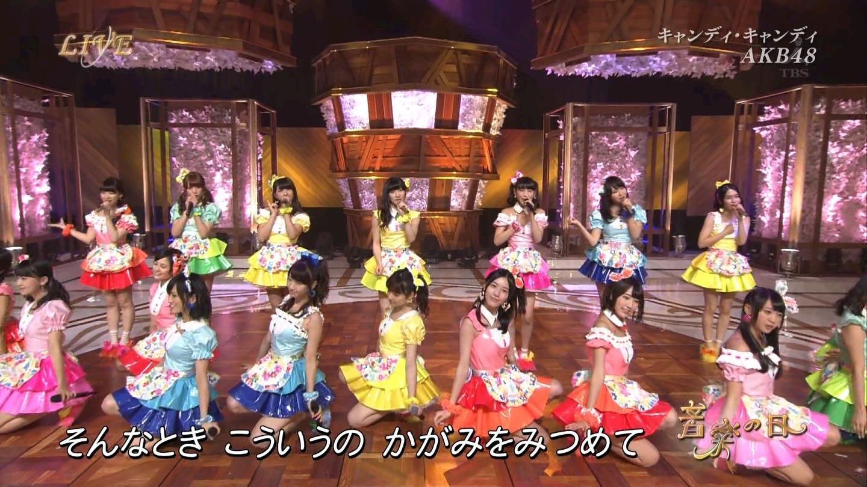 音楽の日 宮脇咲良AKB48 HKT48 20140802 (32)