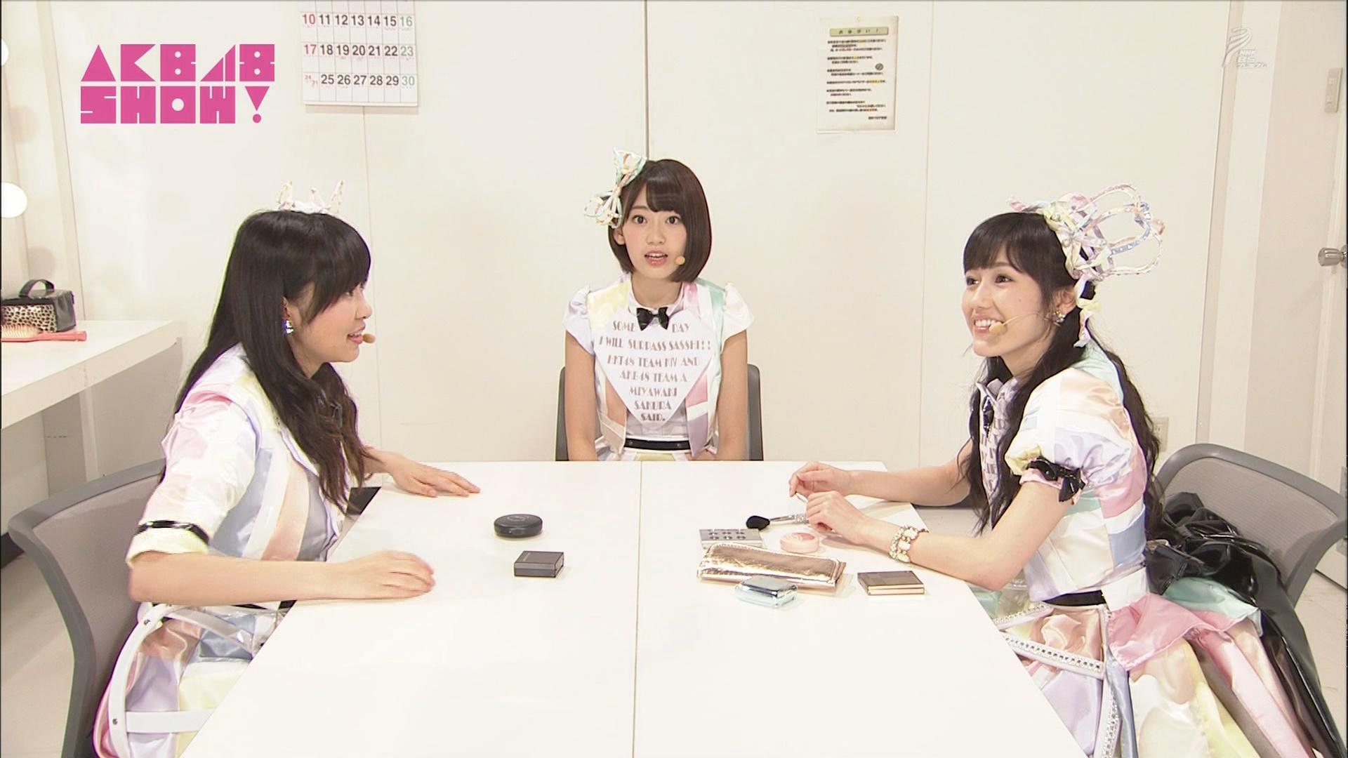 AKB48SHOW 心のプラカード 宮脇咲良 20140830 (13)