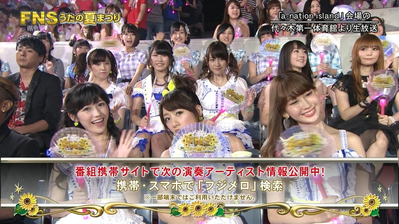 FNS うたの夏まつり2014 渡辺麻友 20140813 (3)