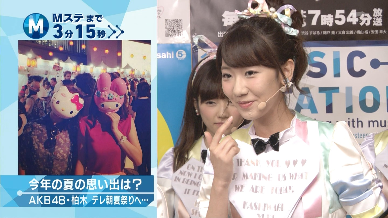 ミュージックステーション AKB48島崎遥香 心のプラカード 20140829 (4)