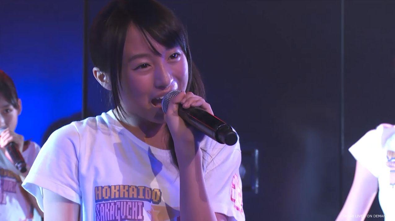 チーム8坂口渚沙 劇場公演デビュー 20140806 (113)