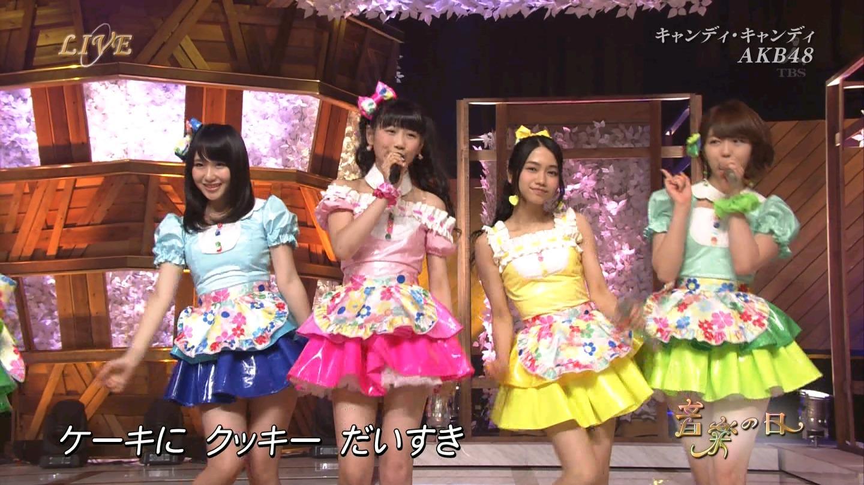 音楽の日 AKB48 キャンディ・キャンディ 20140802 (44)