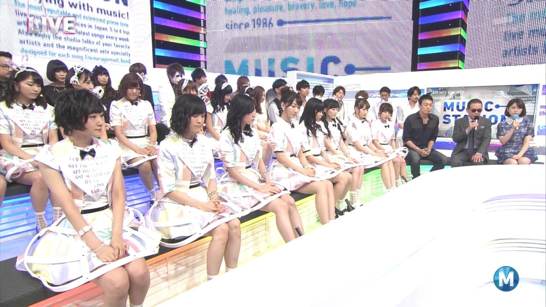 ミュージックステーション AKB48宮脇咲良 心のプラカード 20140829 (11)