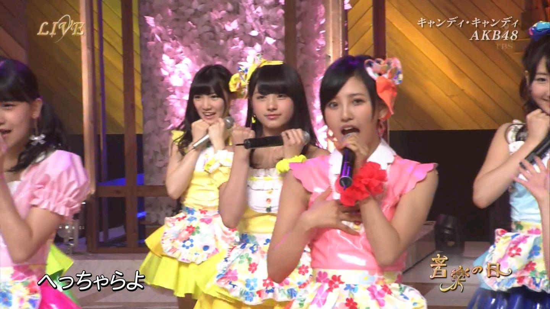 音楽の日 AKB48 キャンディ・キャンディ 20140802 (42)