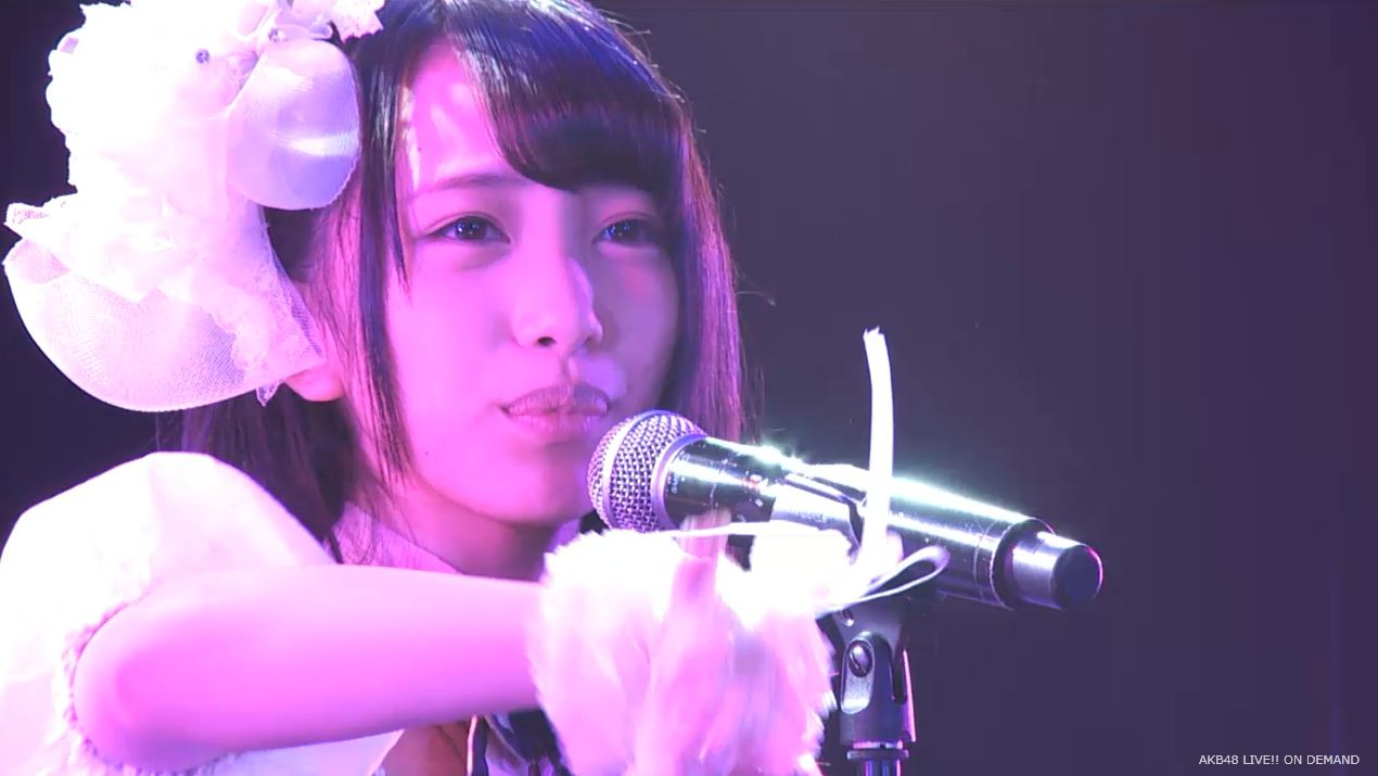 AKB48向井地美音 チーム4公演 残念少女 20140731 (55)