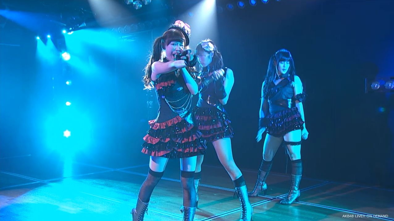 AKB48 チームAツインテール公演 田北香世子 自己紹介&黒い天使 (14)