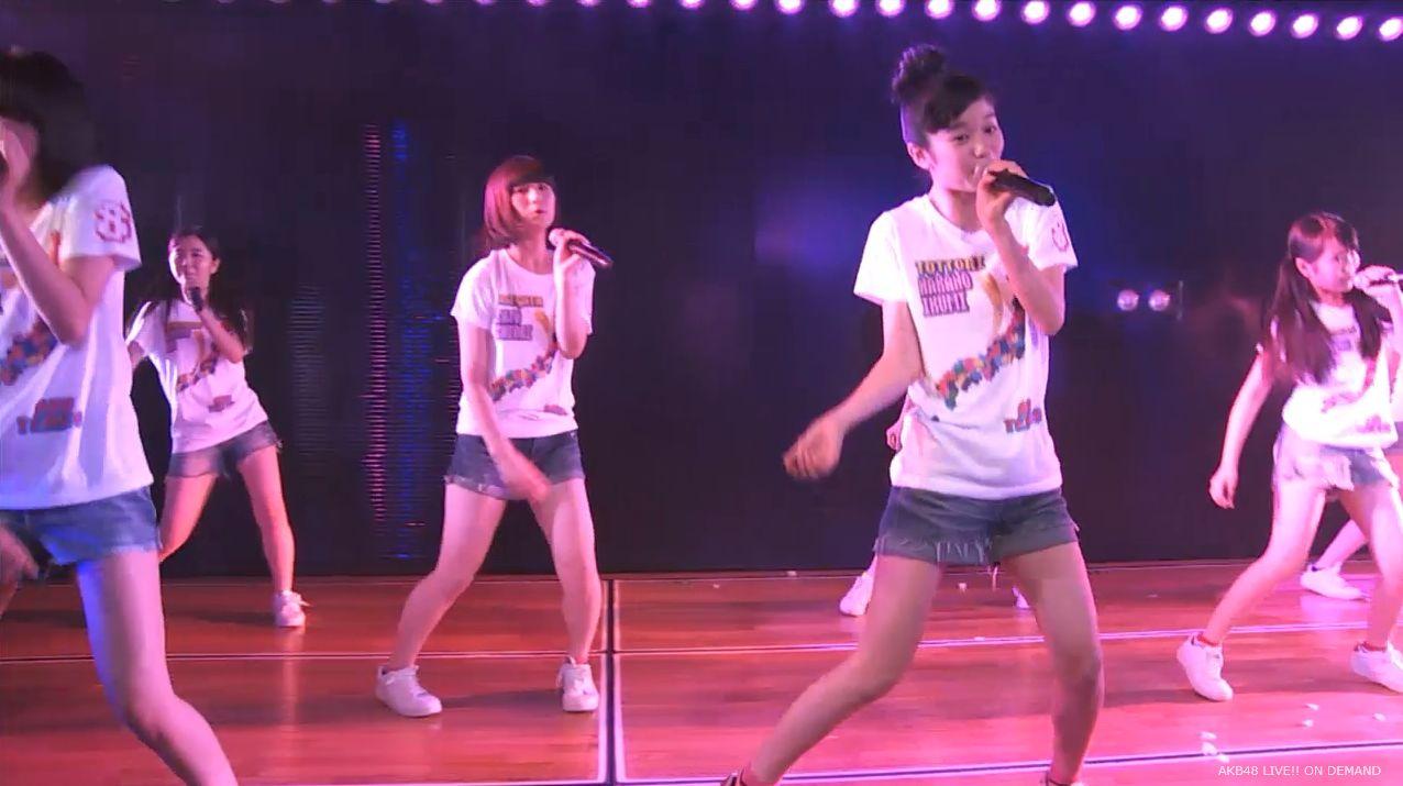 AKB48チーム8 スカートひらり 20140805 (2)
