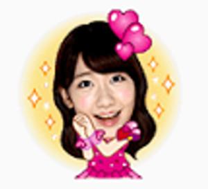 LINEスタンプAKB48  24