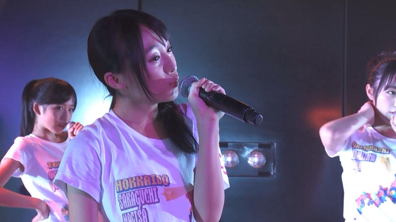 チーム8坂口渚沙 劇場公演デビュー 20140806 (116)