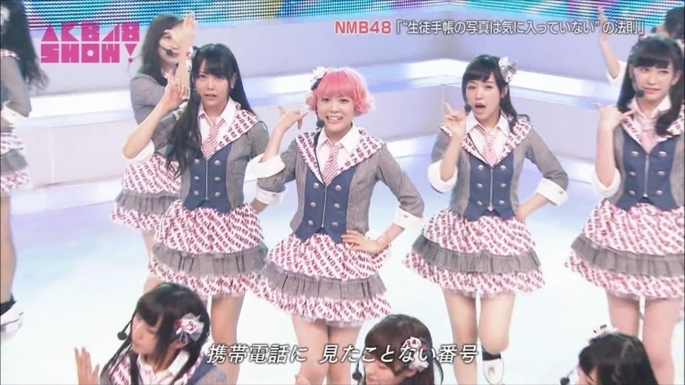 AKB48SHOW NMB48生徒手帳の写真は気に入ってないの法則 20140816 (17)_R