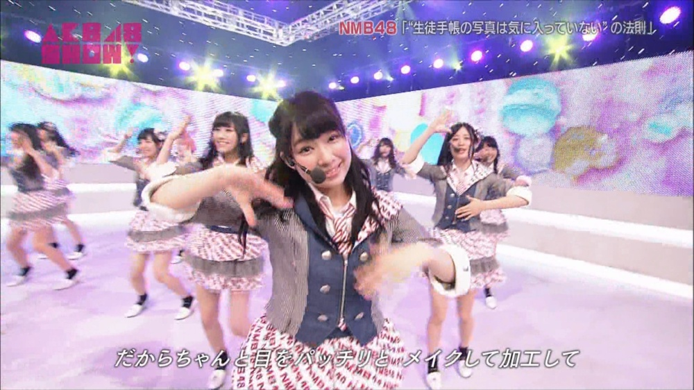 AKB48SHOW NMB48生徒手帳の写真は気に入ってないの法則 20140816 (25)_R