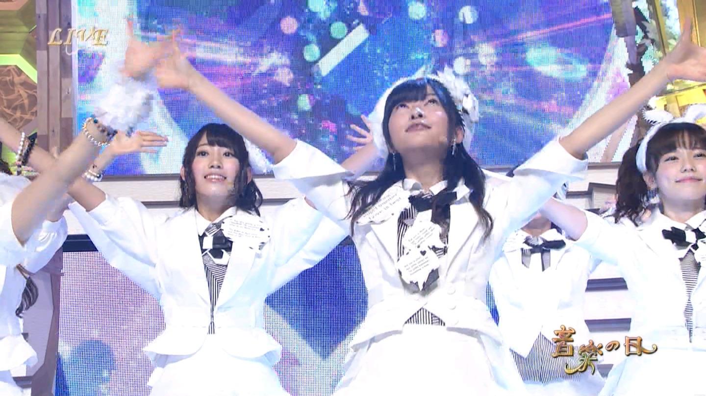 音楽の日 宮脇咲良AKB48 HKT48 20140802 (55)