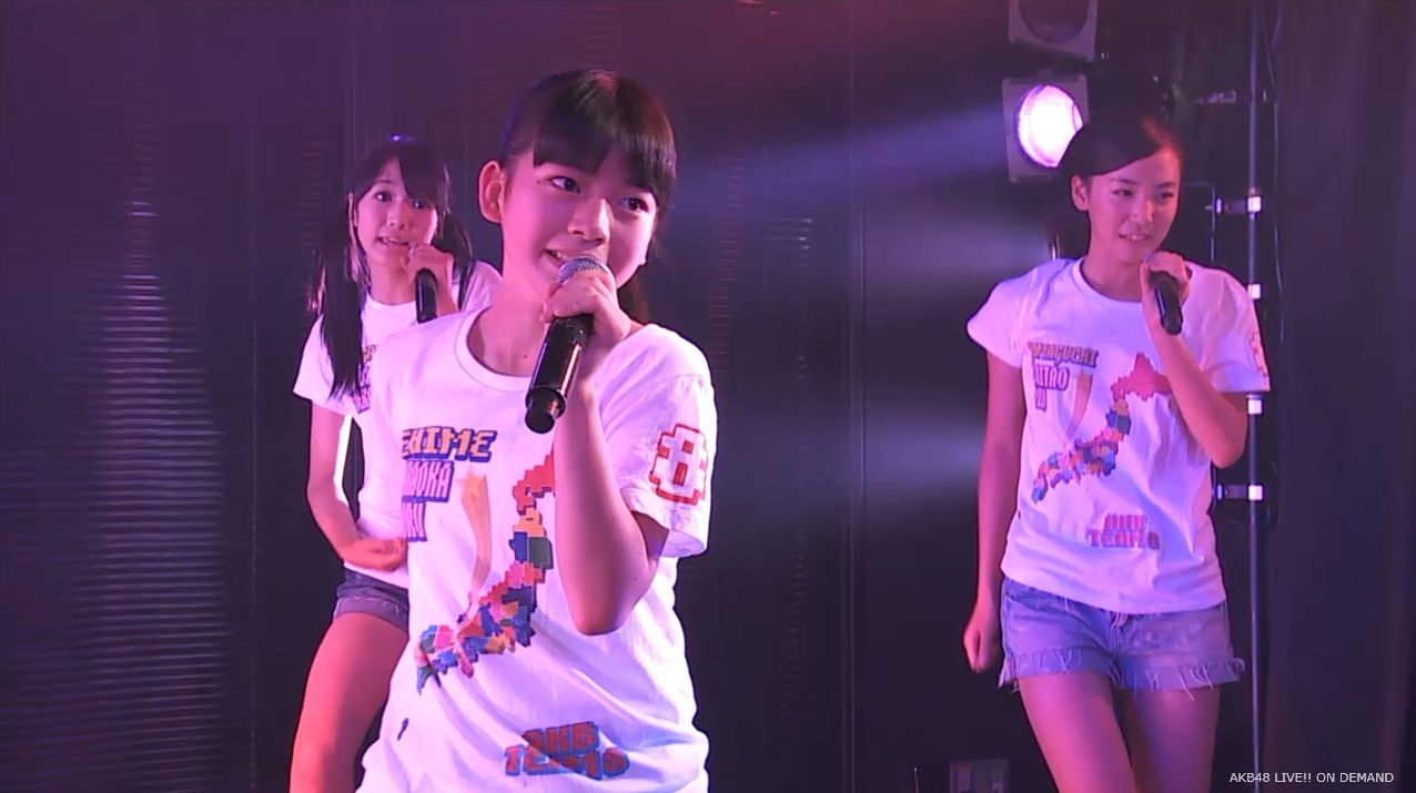AKB48チーム8 スカートひらり 20140805 (8)