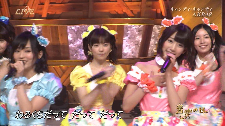 音楽の日 AKB48 キャンディ・キャンディ 20140802 (40)