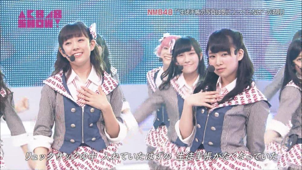AKB48SHOW NMB48生徒手帳の写真は気に入ってないの法則 20140816 (10)_R