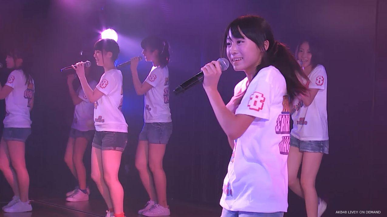 チーム8坂口渚沙 劇場公演デビュー 20140806 (107)