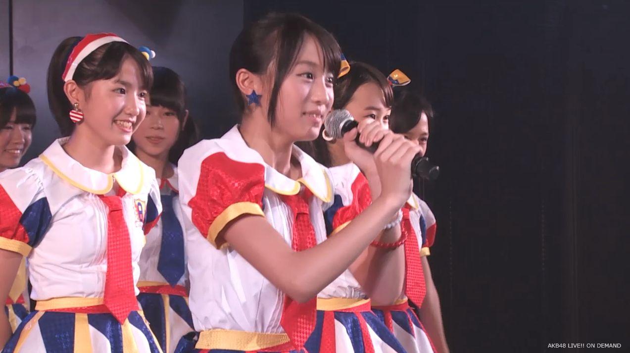 チーム8坂口渚沙 劇場公演デビュー 20140806 (132)