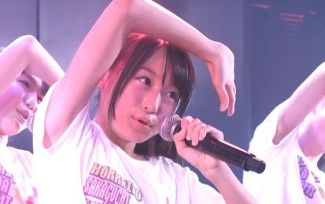 チーム8坂口渚沙 劇場公演デビュー 20140806 (127)