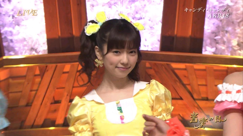 音楽の日 AKB48 キャンディ・キャンディ 20140802 (34)