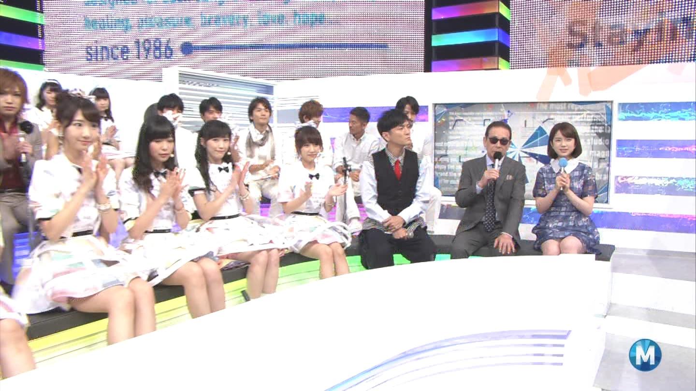 ミュージックステーション AKB48柏木由紀 心のプラカード 20140829 (47)