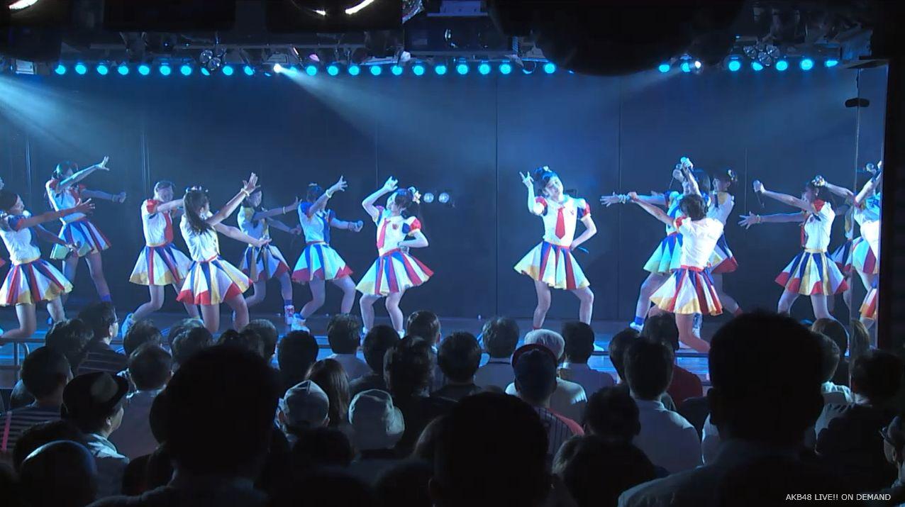 AKB48チーム8 ポニーテールとシュシュ 20140805
