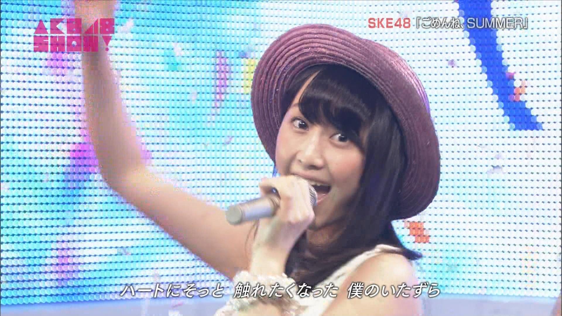 AKB48SHOW ごめんね、SUMMER 松井玲奈 20140830 (16)