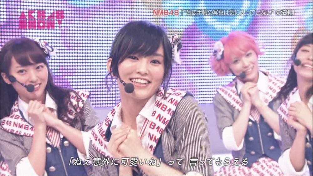 AKB48SHOW NMB48生徒手帳の写真は気に入ってないの法則 20140816 (70)_R