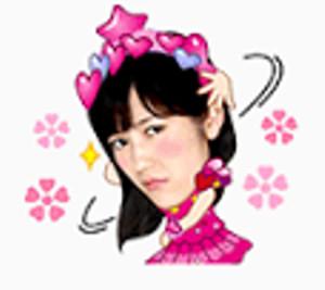 LINEスタンプAKB48 02