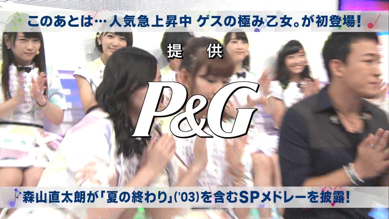 ミュージックステーション AKB48川栄李奈 心のプラカード 20140829 (10)
