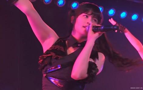 AKB48 チームAツインテール公演 田北香世子 自己紹介&黒い天使 (33)