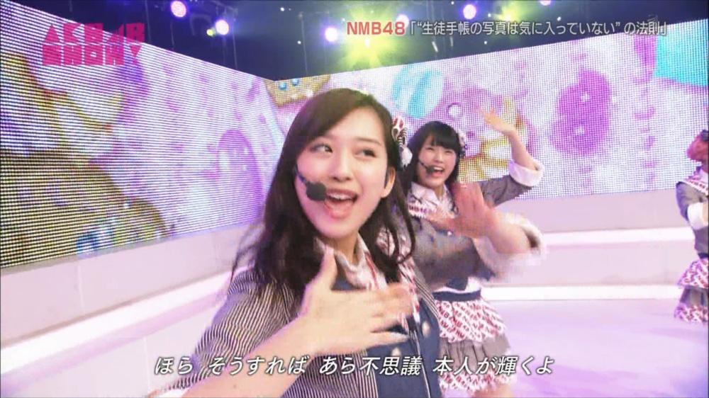 AKB48SHOW NMB48生徒手帳の写真は気に入ってないの法則 20140816 (67)_R