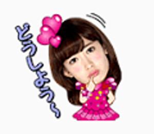 LINEスタンプAKB48 17