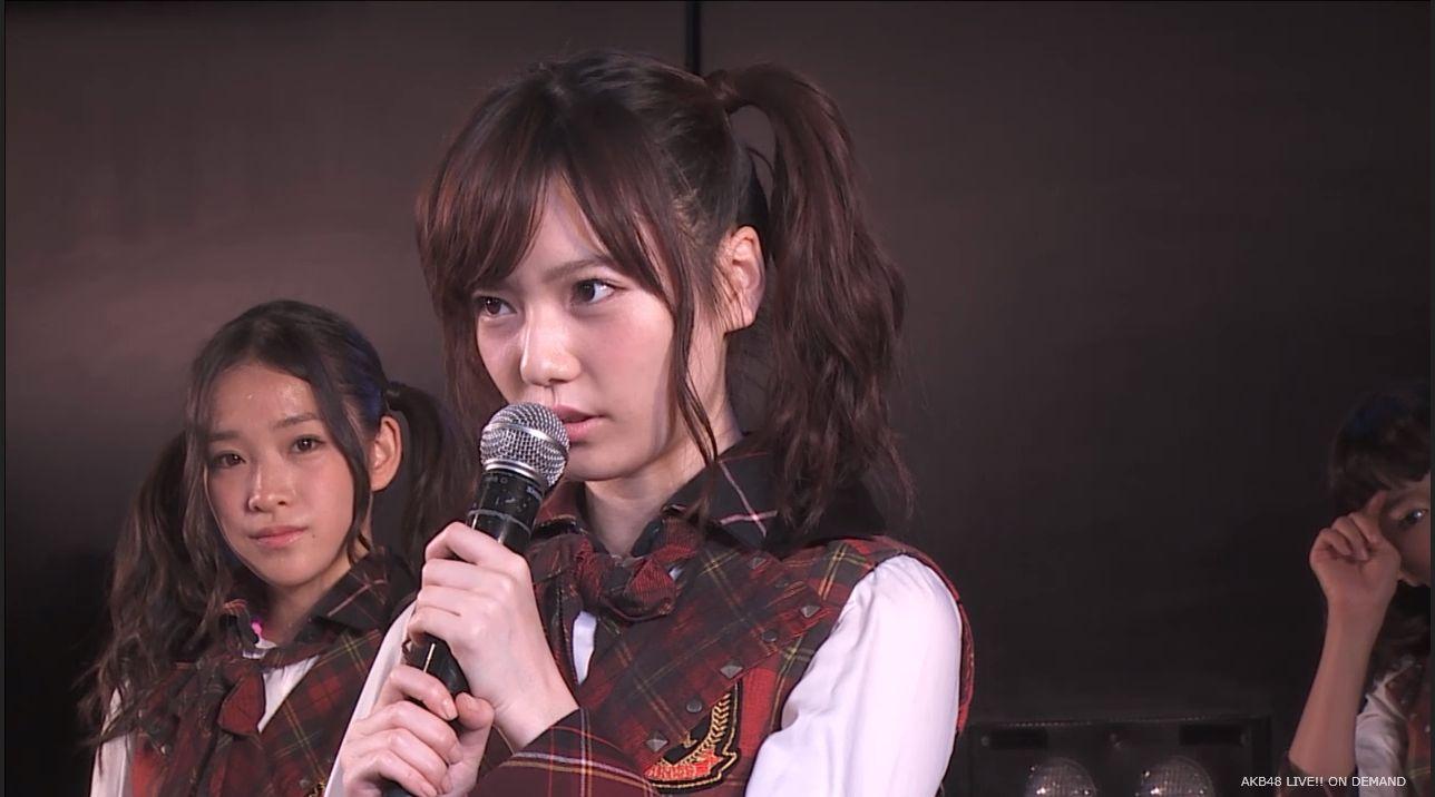 AKB48 チームAツインテール公演  島崎遥香 自己紹介MC (1)