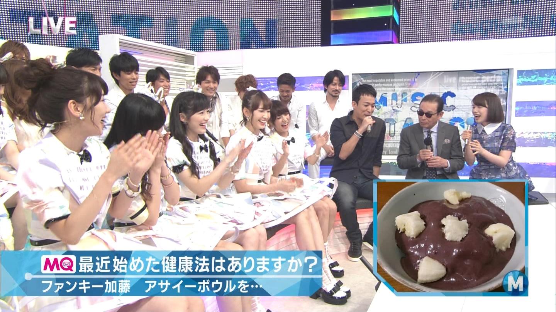 ミュージックステーション AKB48柏木由紀 心のプラカード 20140829 (32)