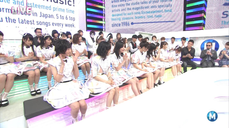 ミュージックステーション AKB48柏木由紀 心のプラカード 20140829 (26)