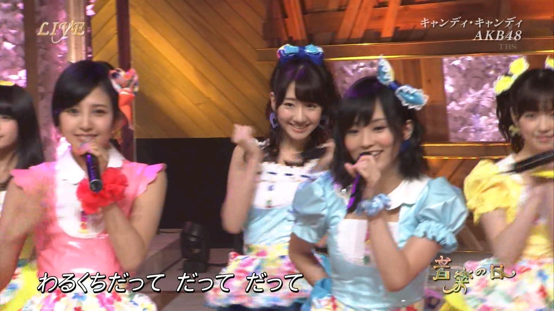 音楽の日 AKB48 キャンディ・キャンディ 20140802 (41)