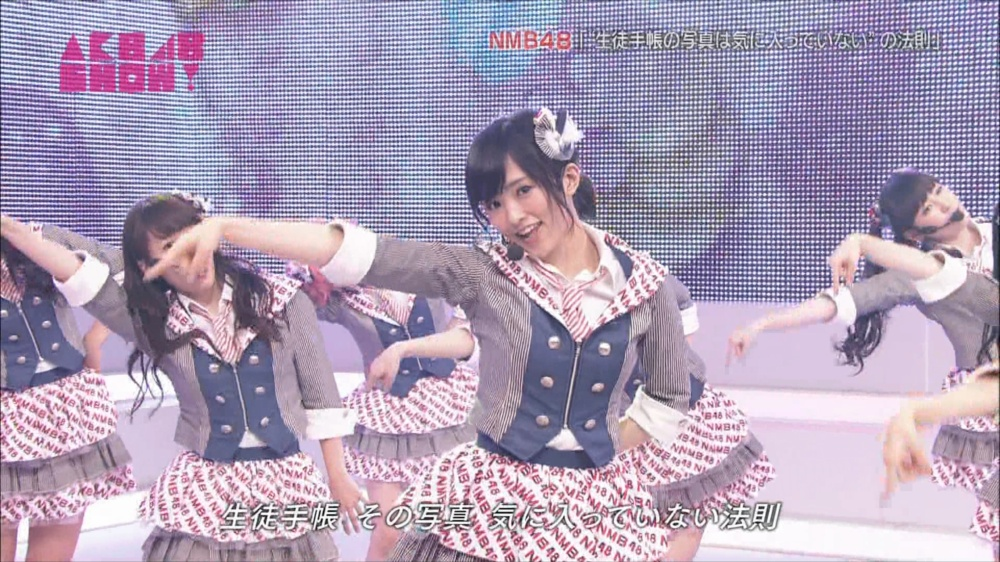 AKB48SHOW NMB48生徒手帳の写真は気に入ってないの法則 20140816 (22)_R