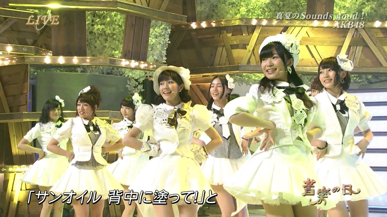 音楽の日 宮脇咲良AKB48 HKT48 20140802 (56)