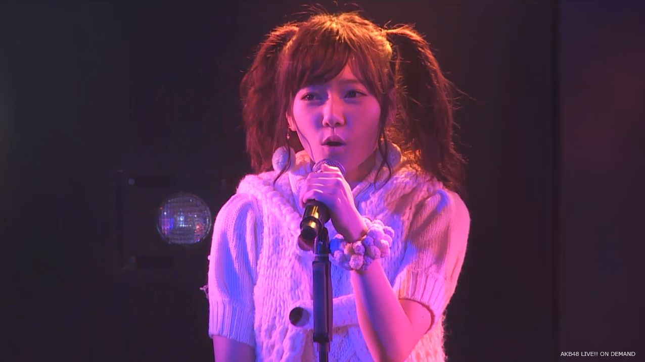 AKB48 チームAツインテール公演  島崎遥香 ハート型ウィルス (13)