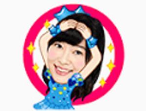 LINEスタンプAKB48 09