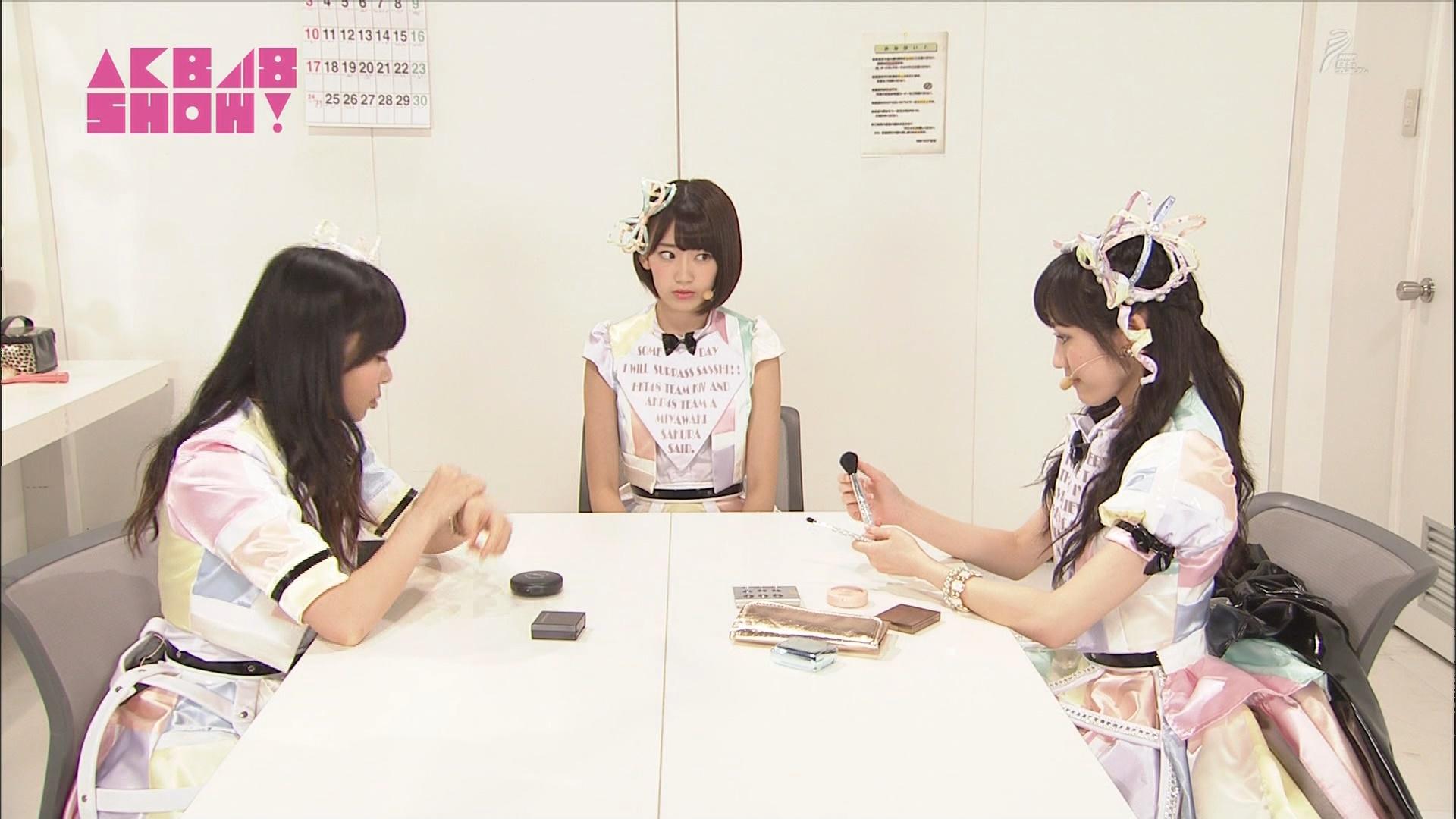 AKB48SHOW 心のプラカード 宮脇咲良 20140830 (2)