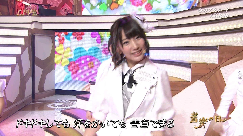 音楽の日 宮脇咲良AKB48 HKT48 20140802 (49)