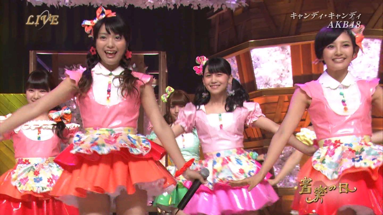 音楽の日 AKB48 キャンディ・キャンディ 20140802 (29)